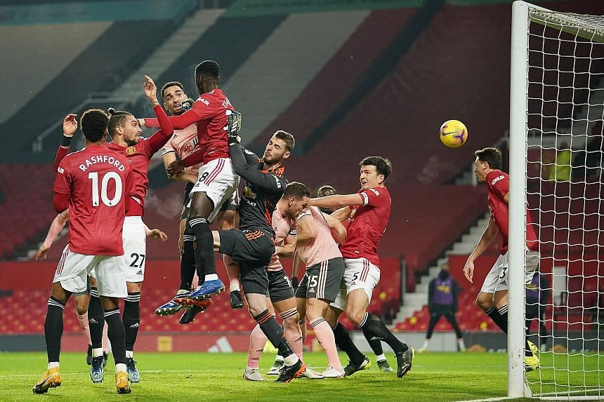 Bottom side Sheffield stun Man United