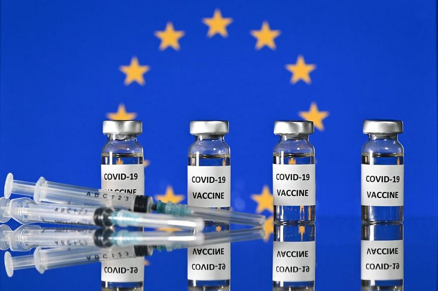 The EU's governments have administered just 2.3 doses of vaccine per 100 people.