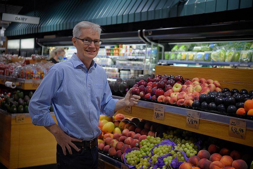 Joe Stevens, chief executive of gourmet grocery chain Little Farms.