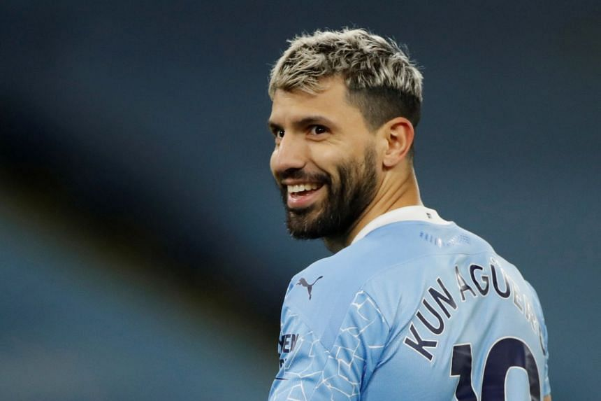 Aguero, who is City's record goalscorer, has missed their six games.