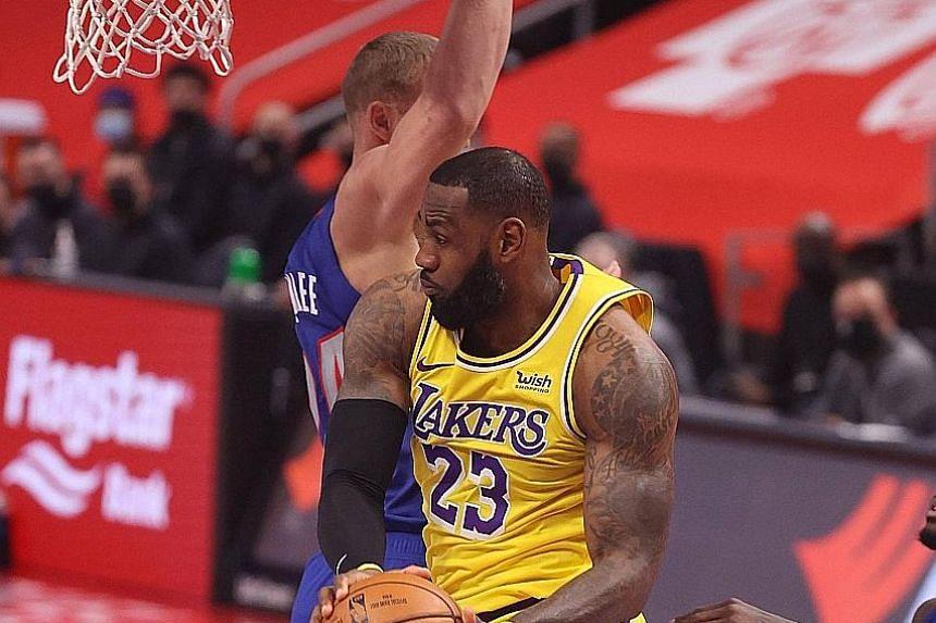 Lakers vs. Pistons - Game Recap