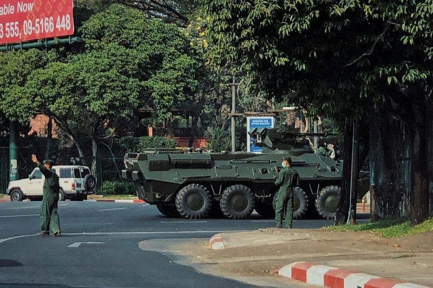 Myanmar's military said it would protect and abide by the country's constitution and act according to law.
