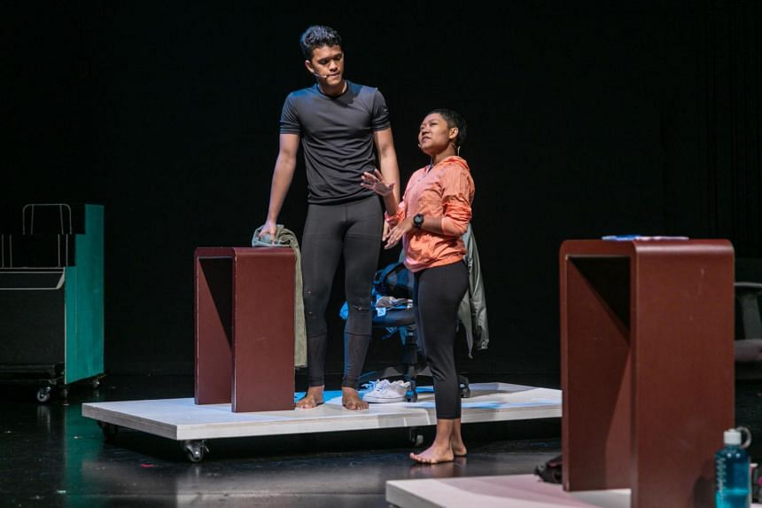 The Malay-language play tackles the hot-button issue of homosexuality in the Muslim community.