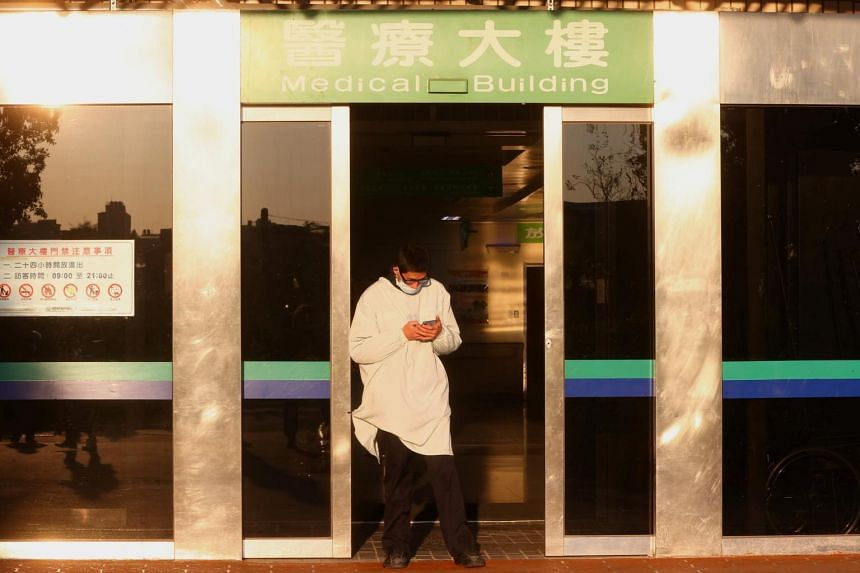 The new outbreak centres on a hospital in the northern city of Taoyuan.