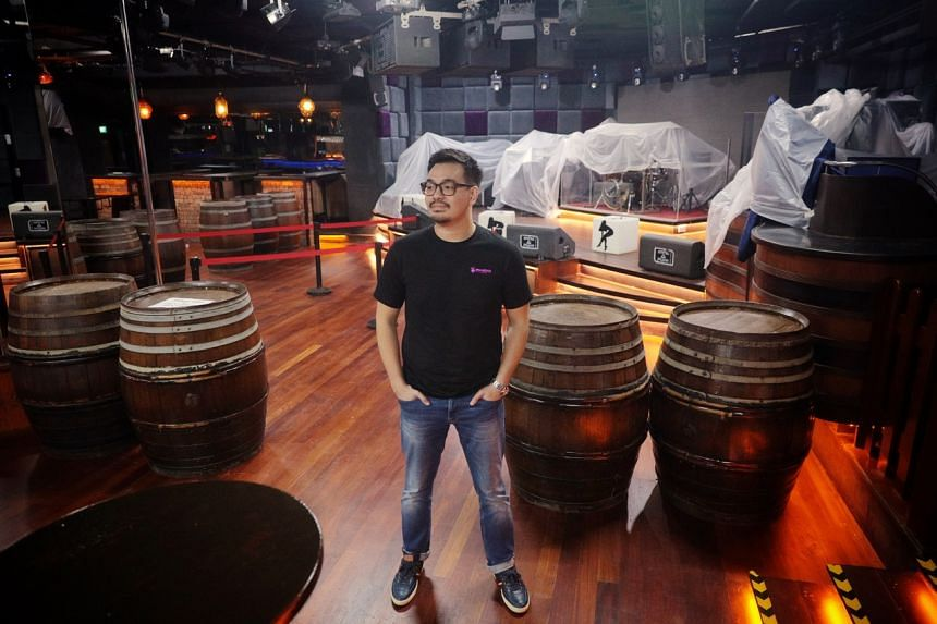 Mr Bryan Ong, managing director of Strumm's Holding, which runs Ipanema World Music Bar.