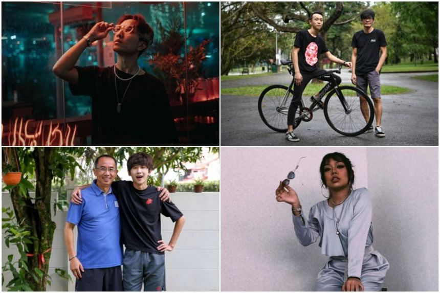 (Clockwise from top left) Lee Yik Keat, Zavier Lim, Calvin Poh, Wirdiani, Ng Ming Wei and Cedric Ng.