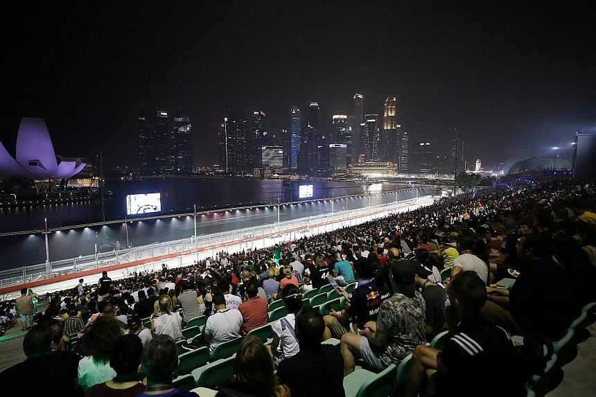 The Singapore Grand Prix contributes about $130 million in tourism receipts annually. But whether Singapore is keen to host more races beyond its four-year extension that ends this year depends on whether F1 continues to innovate and remains attracti