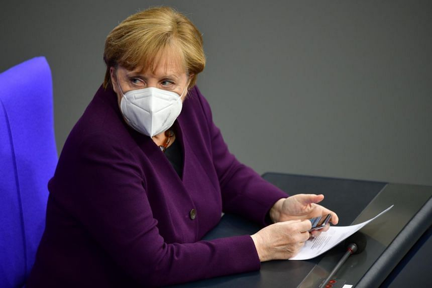The pandemic seems to be getting away from German Chancellor Angela Merkel.