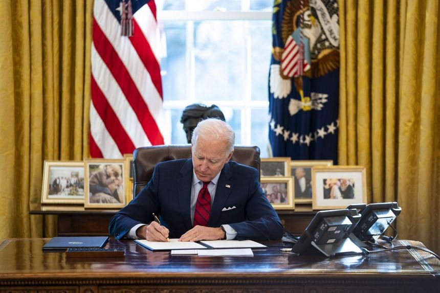 Mr Joe Biden said in a letter to Congress that he was reversing all 73 spending cuts that Mr Donald Trump had requested,