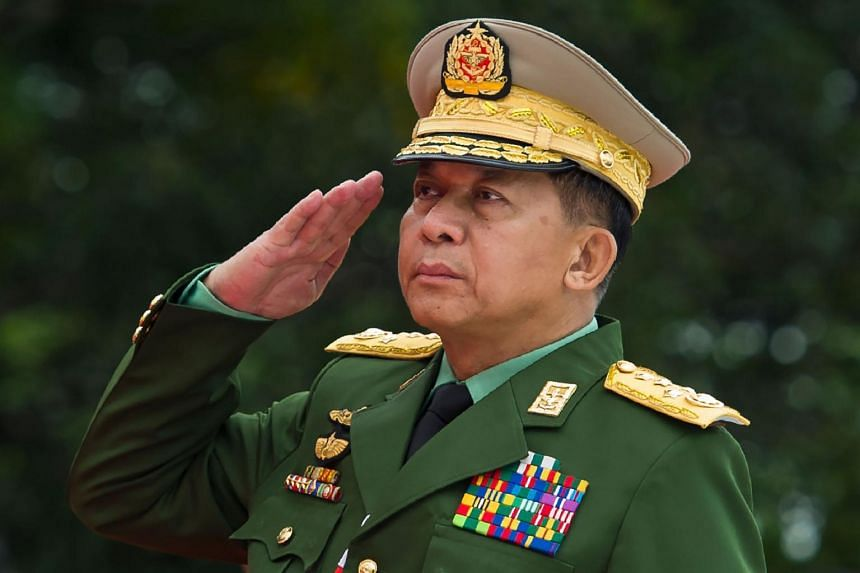 Myanmar's military chief,Min Aung Hlaing took over the running of the military in 2011.