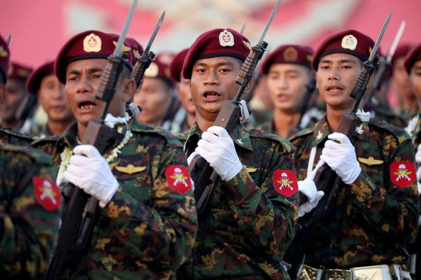 """Australia warned that Myanmar's military was """"once again seeking to seize control"""" of the country."""