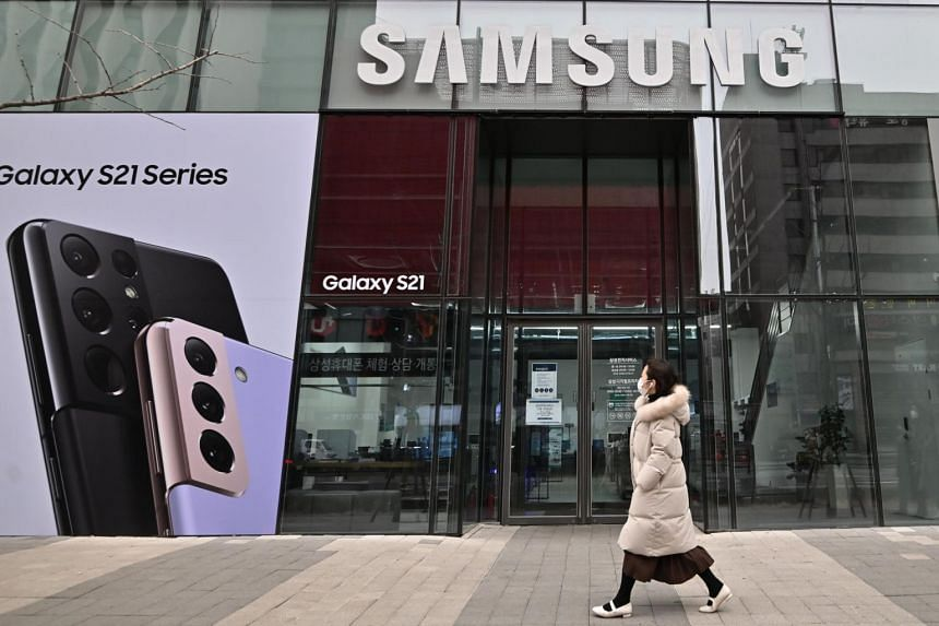 Sales of memory chips soared as the nation's chipmakers, including Samsung Electronics, posted strong earnings.
