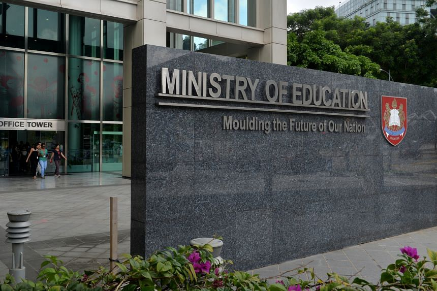 Education Minister Lawrence Wong added that the ministry's focus is on the school environment and the students involved.