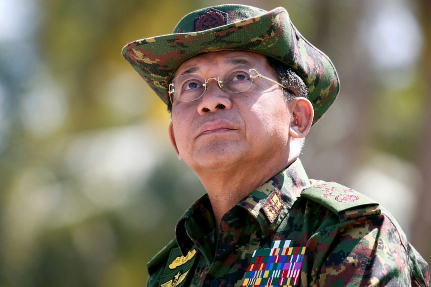 Power will reportedly be handed to Myanmar military chief Min Aung Hlaing.