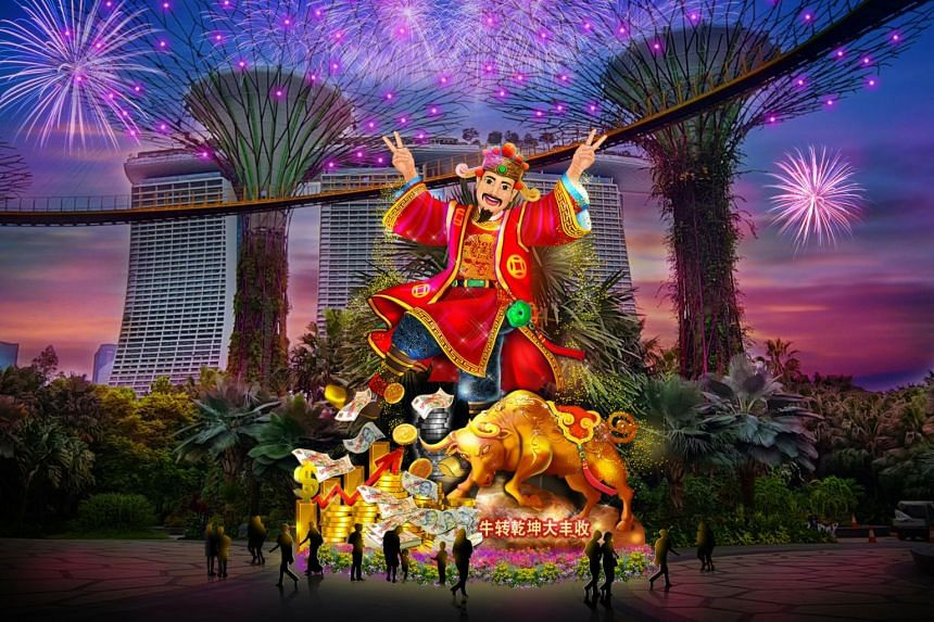To see the lanterns, members of the public will have to book a time slot on the River Hongbao website.