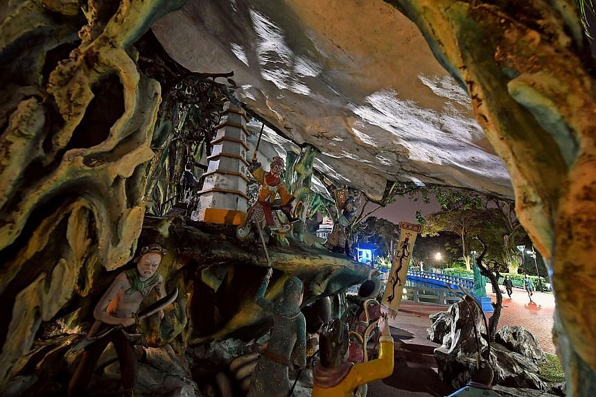 Haw Par Villa has been closed since October last year for upgrading works, which are expected to be completed next month. With international travel at a standstill, domestic tourism now has a crucial role in supporting tourism businesses, said the Si