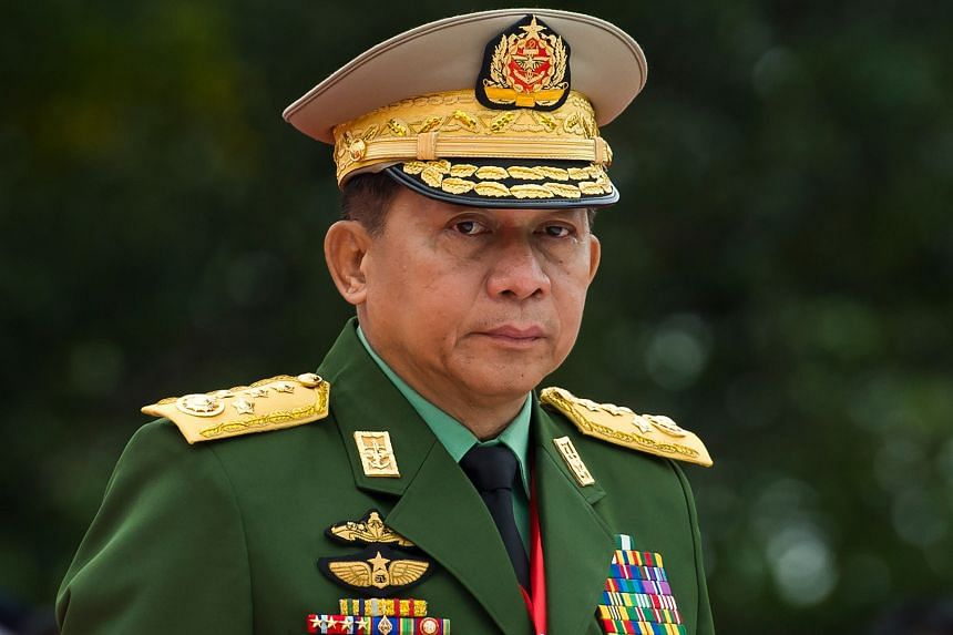 Army chief Min Aung Hlaing already faces sanctions from the United States and Britain.