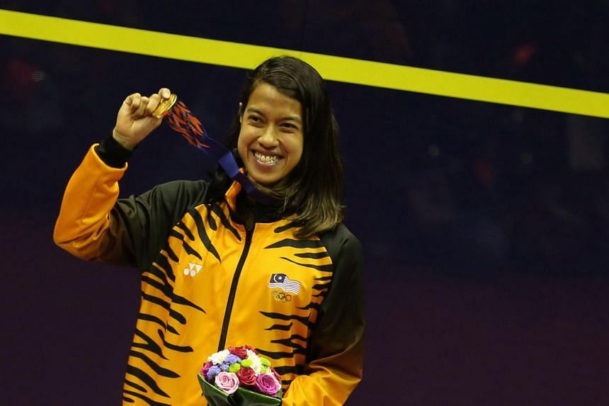Nicol David won the accolade on Feb 1 with almost three times as many votes as the runner-up.