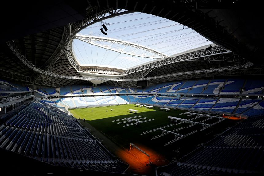 The Al-Janoub Stadium is one of the locations to host the 2022 Fifa World Cup in Qatar.