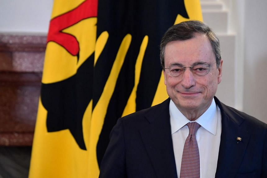 Italian economist Mario Draghi is widely credited with pulling the euro zone back from the brink of collapse in 2012.