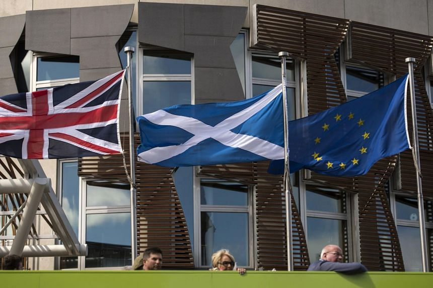 The Scottish government said an independent Scotland would benefit from rejoining the European Union's single market.