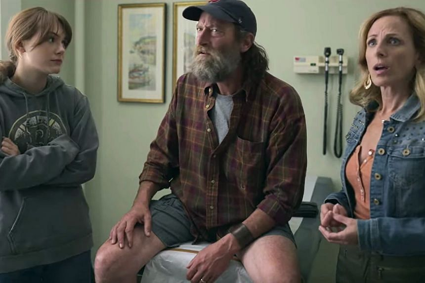 Coda, which takes its title from an acronym for ''child of deaf adult'', stars (above, from far left) Emilia Jones, Troy Kotsur and Marlee Matlin.