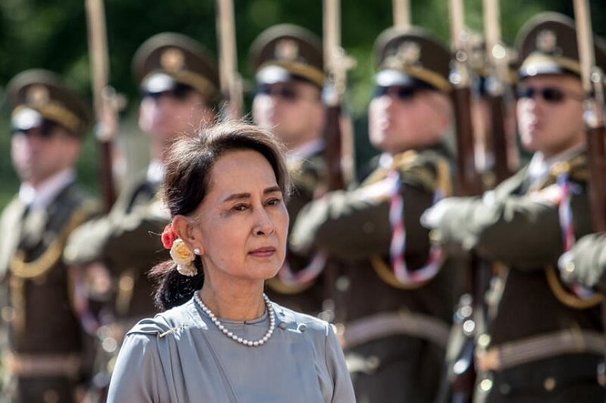 A police document said the military raided Ms Aung San Suu Kyi's home and found hand-held radios that were illegally imported.