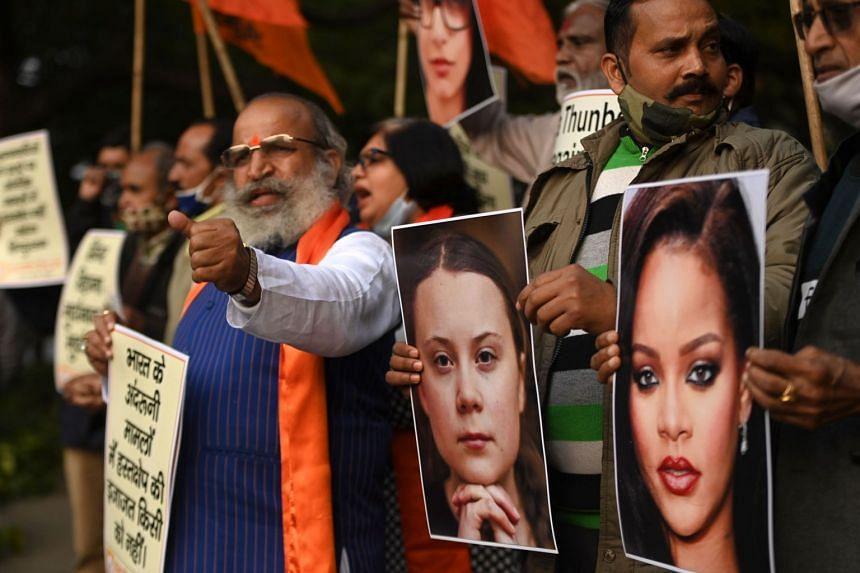 """Image result for # FarmersProtest i Indien."""""""