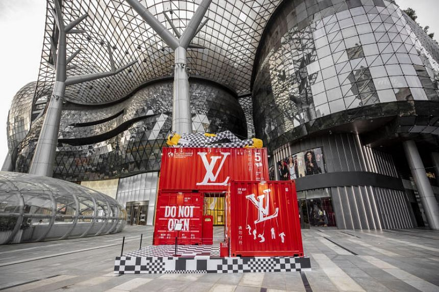 Singapore is one of a few ports of call for this travelling collection by Louis Vuitton.