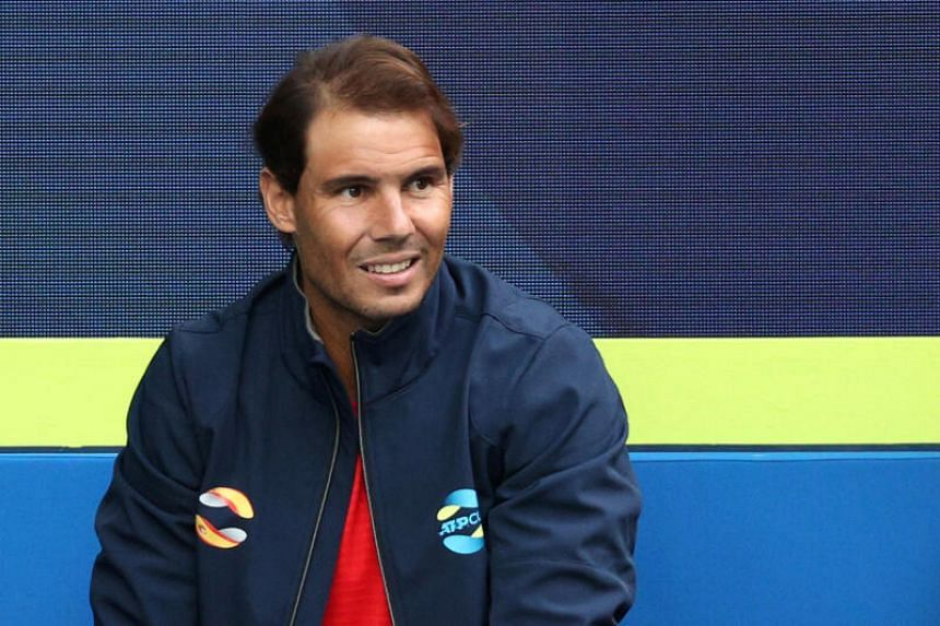Rafael Nadal said he was still far away from the level required to play at the year's first Grand Slam.
