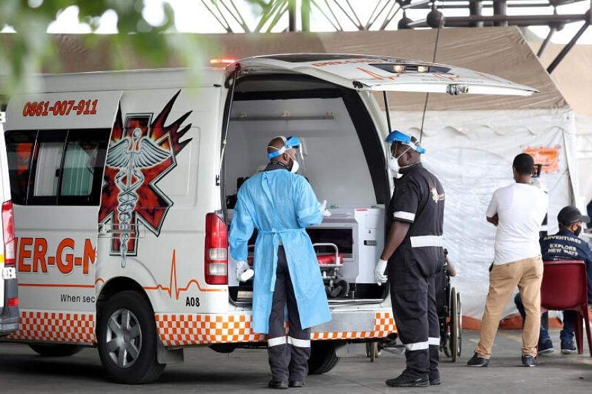 Over 35,100 medical workers had contracted the virus in South Africa's public sector by Oct 2020.