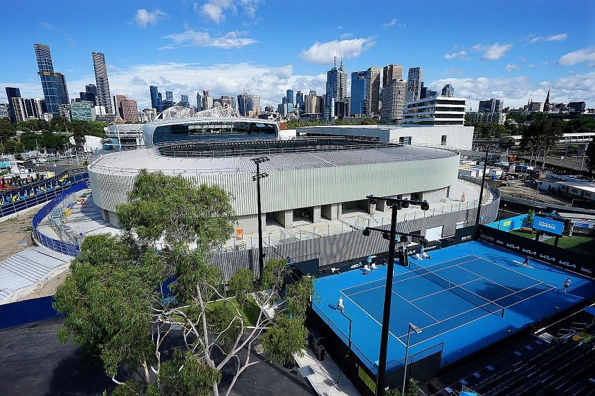 Authorities have approved 30,000 fans per day, about 50 per cent capacity, at the Australian Open.