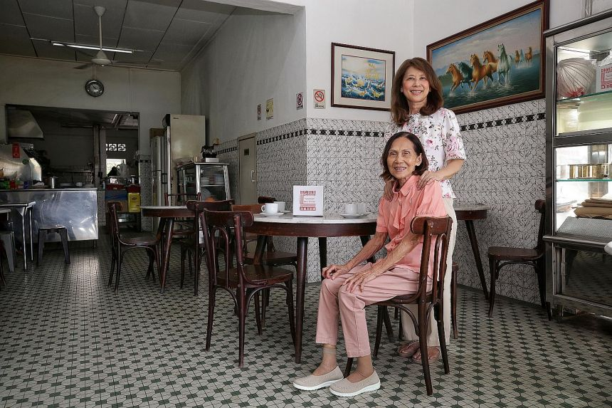 Madam Sharon Tan (above) and Madam Leoang Kwang Ling enjoyed a good rest during the two-year hiatus.