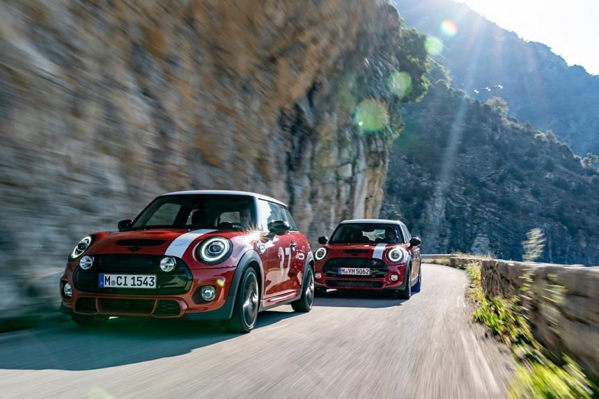 Mini has made a Paddy Hopkirk Edition to commemorate the winner of the 1964 Monte Carlo Rally.