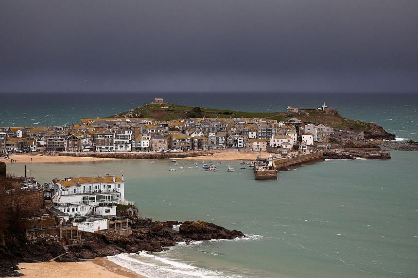 The court was told that the teen operated out of his grandmother's cottage in Cornwall in south-western England.