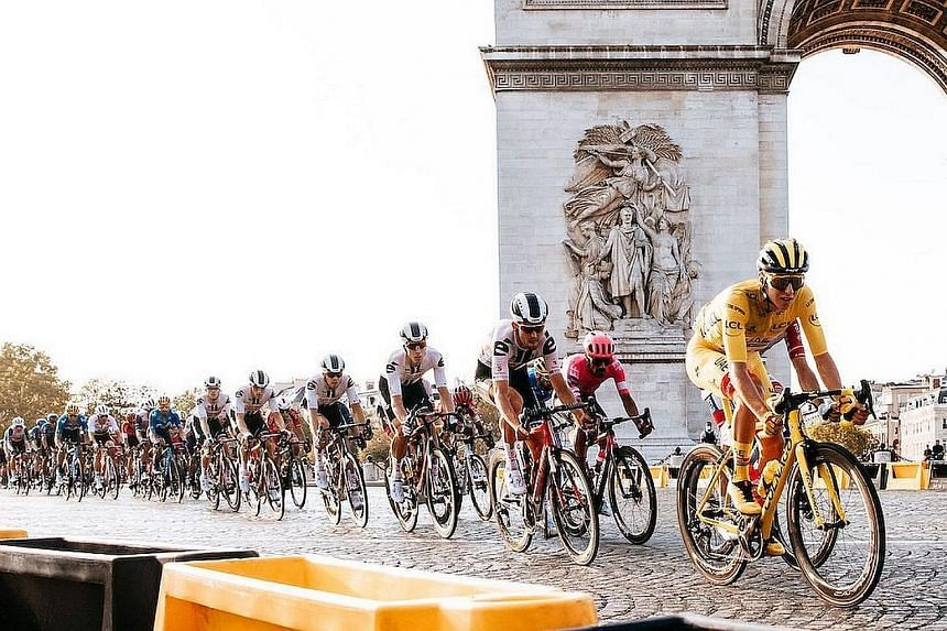 When this year's Tour starts on June 26, 2021, the peloton will contain 184 riders, eight more than last year.