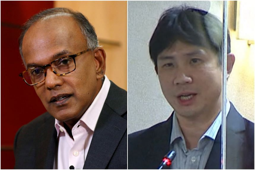 Home Affairs and Law Minister K. Shanmugam said the suggestion by Workers' Party MP Jamus Lim may not be wise.