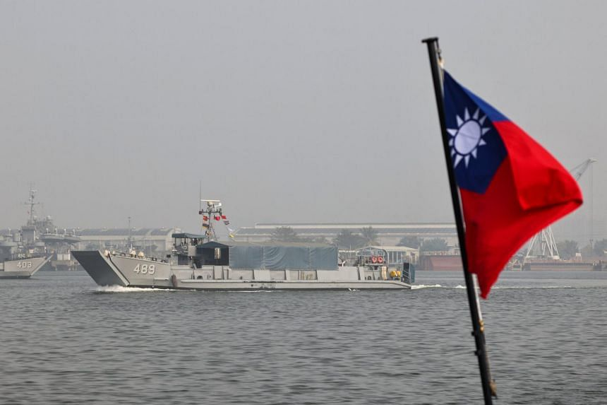 China says USA  'creating tensions' after warship sails near Taiwan