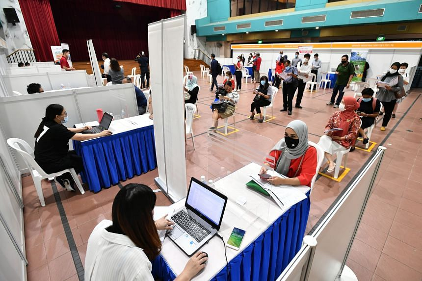 The employment of Singaporeans and PRs has been boosted by initiatives such as the SGUnited Jobs and Skills Package.