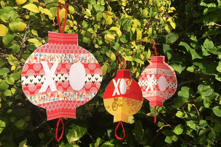 A lantern that you can display spelling OX to usher in the Year Of The Ox.