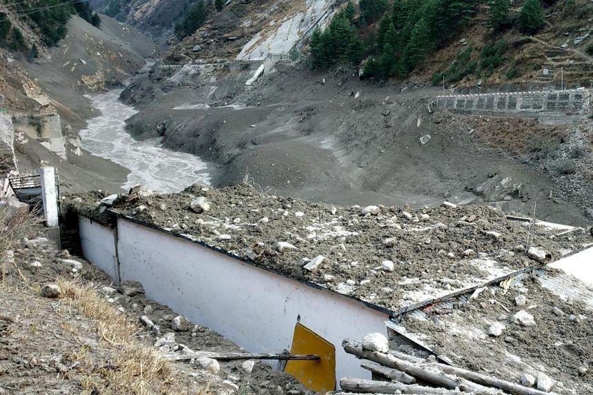 The scenes were reminiscent of floods in Uttarakhand in 2013.