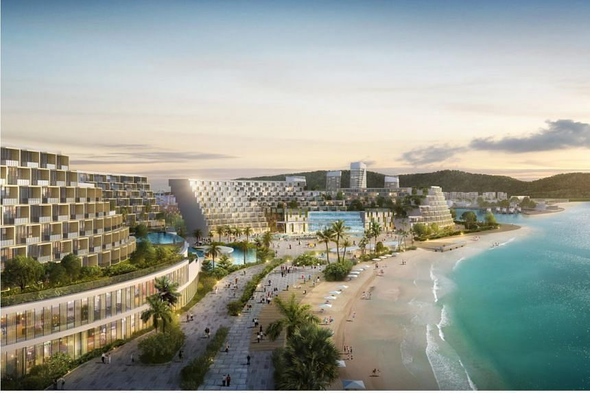 A major part of the Ream City plan includes an extensive beachfront that stretches beyond 6km.