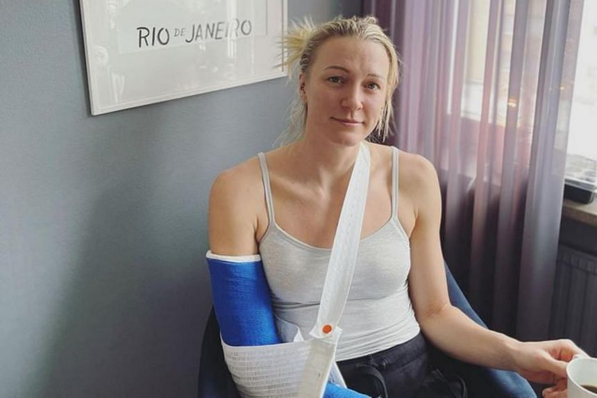 Sarah Sjostrom said she was devastated by the accident and will undergo surgery on Feb 8, 2021.