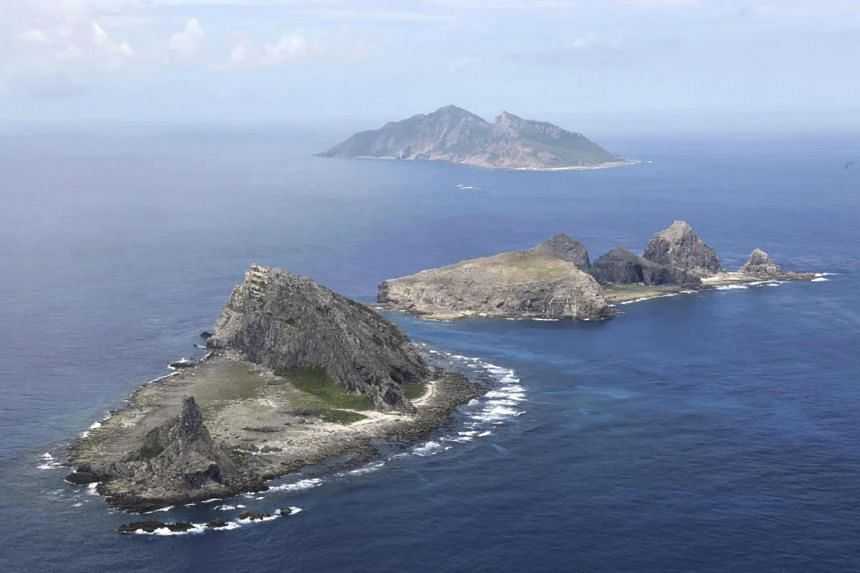 Japan protested after two Chinese coast guard ships entered waters off the Senkaku islands on Saturday and Sunday.