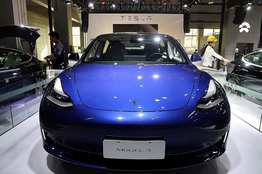 Two versions of the Tesla Model 3 have appeared on the Land Transport Authority's fuel economy comparison site, which means the US electric car manufacturer is almost ready to reopen for business here.