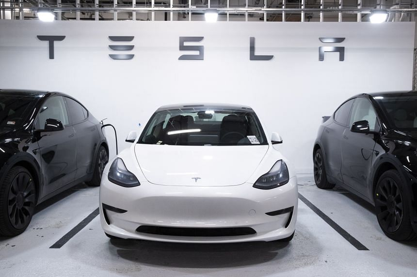 At current prices, 0.88 bitcoins would be enough to buy an entry-level Tesla Model 3.