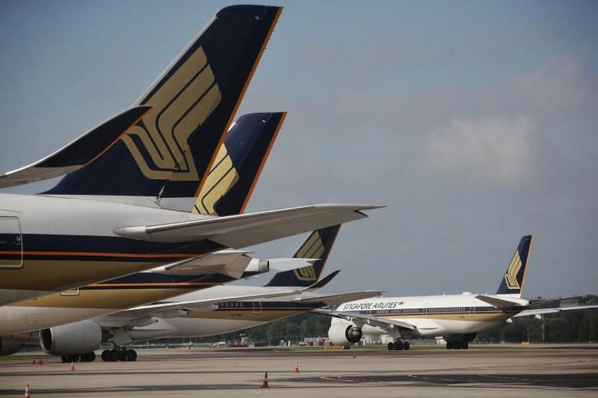 SIA now has 132 planes on order, down from 135 earlier.