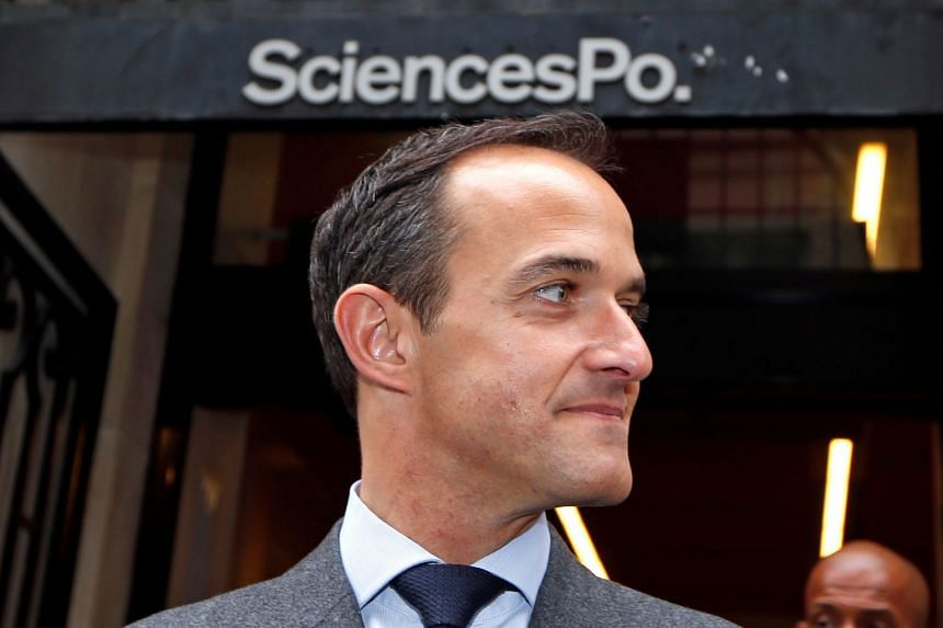Sciences Po president Frederic Mion (above) has resigned, amid claims he knew about accusations aimed at French professor and political commentator Olivier Duhamel.