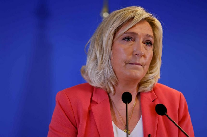 Marine Le Pen has refused an order to undergo psychiatric tests as part of the inquiry.