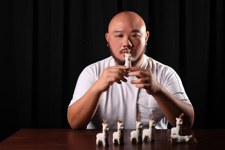 Toy Factory's artistic director Goh Boon Teck.